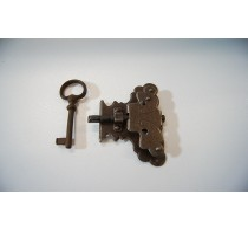 Off. Vitrinenschloss mit Schlüssel